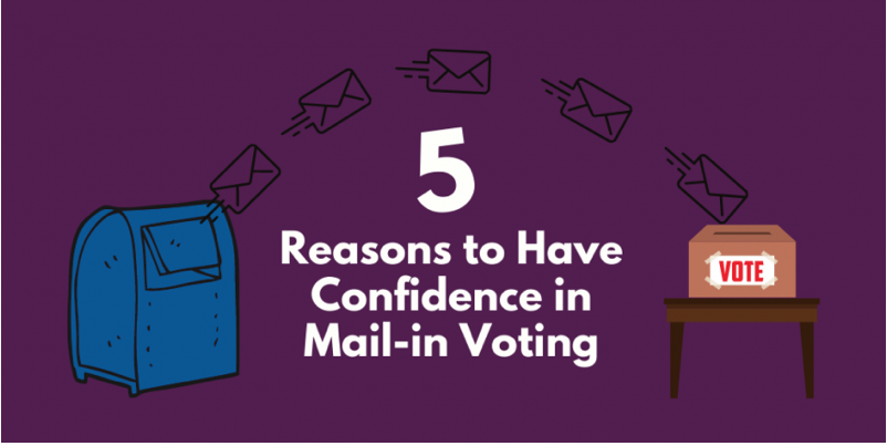 You can trust vote by mail